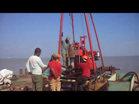 GEOTECHNICAL INVESTIGATION  ON OFFSHORE By AB GEOTECH MARITI