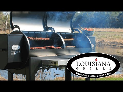 Louisiana Grills Wood Pellet Grill Feature Video