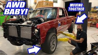 The Twin Turbo S-10's AWD WORKS! It Is FINALLY Ready To RIP!