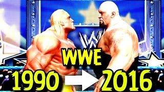 Gelmiş geçmiş bütün WWE Serileri | WWE2K | 1990 - 2016