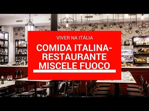 Comida italiana - restaurante italiano Miscele e Fuoco em Roma #1