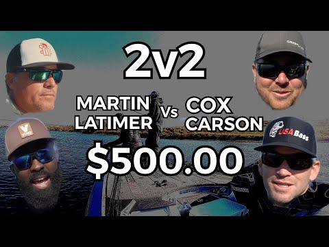 Team Martin Vs Team Cox For $500.00 - Who Will WIN!?