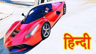 GTA 5 - Franklin`s Head To Head Car Race With Ferrari