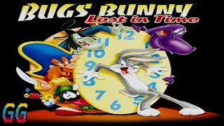 PS1 Bugs Bunny: Lost in Time 1999 PLAYTHROUGH (100%)