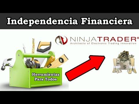 NINJA TRADER 8 EN ESPAÑOL | | HERRAMIENTAS PARA TODOS | Independencia Financiera ✔