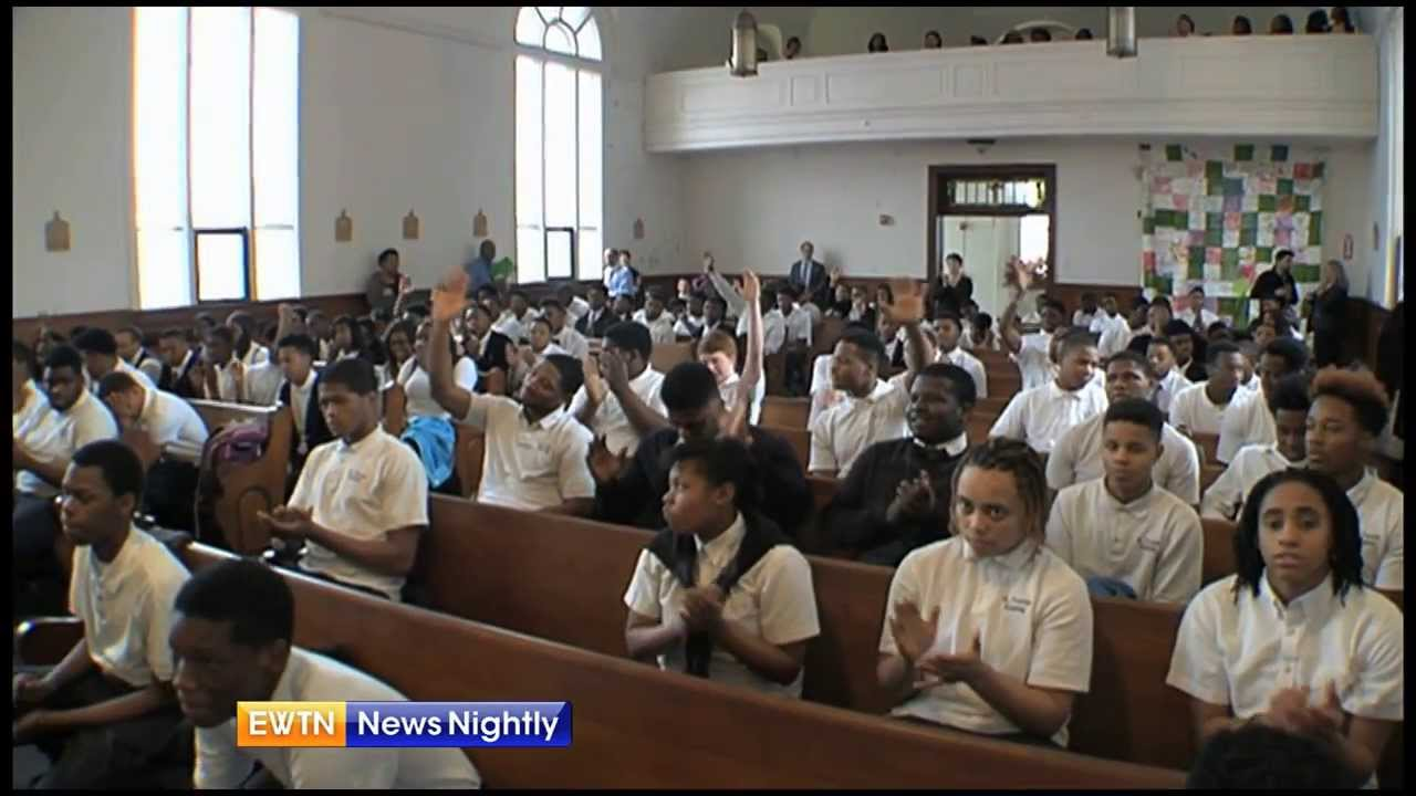 Oldest African-American Catholic school still brings faith