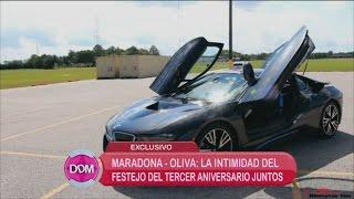 Los regalos millonarios de Diego Maradona a Rocio Oliva