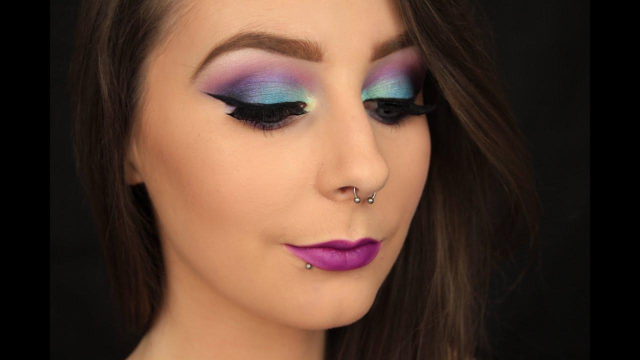 Mermaid Halloween Makeup   Wearable Version - YouTube