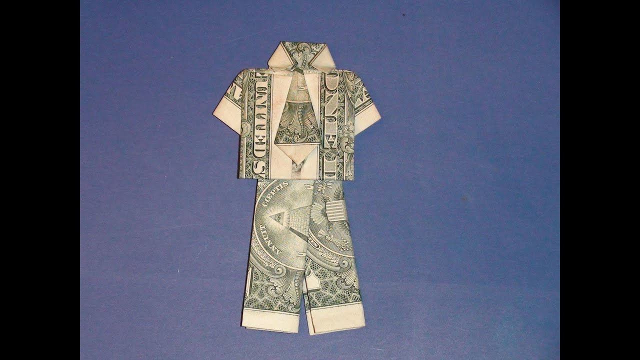 Dollar Bill Origami- Shirt and Tie : 15 Steps (with Pictures) -  Instructables | 720x1280