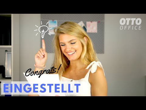 Video: Bewerbung schreiben - Traumjob garantiert!