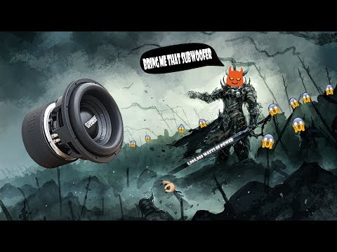 ☣️BASS TEST☣️ v1 (NOAX) The end of your speakers 🔊💥 (clean low bass)