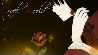 Repeat youtube video AMV - Сruel World - Bestamvsofalltime Anime MV ♫