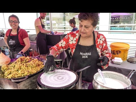 Indian Dosa and Mumbai Fresh Food. London Street Food from India