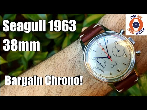 Seagull 1963 Reissue - Chinese Pilots' Watch - Manual Wind Chronograph