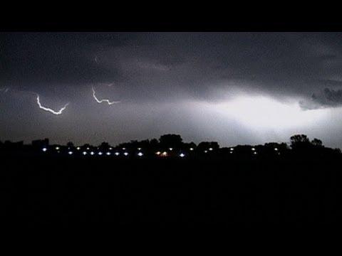 Unwetter-Wetter, Blitze über Berlin