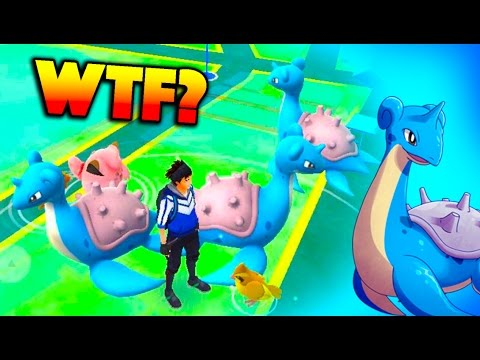 LAPRAS SPAWN EVENT IN POKEMON GO? Cleaning Up the Cluster Spawns!