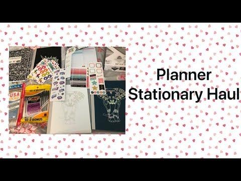 Planner Stationary Haul