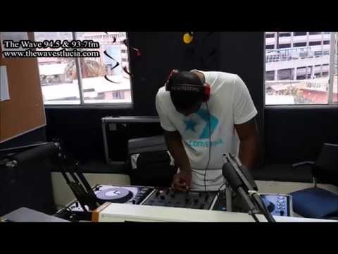 DJ Scratch Master live on the Wave 94.5 & 93.7fm (July 2014)
