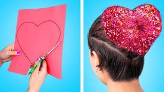 13 فكرة لطيفة لتصفيف الشعر وابتكارات