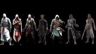 Все литералы Assassin's Creed подряд!(HD)
