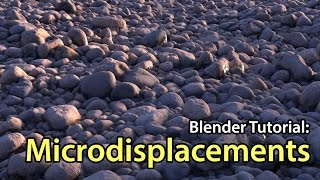 Introduction to Microdisplacements - Blender Tutorial