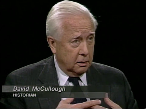 David McCullough interview on Charlie Rose (1999)