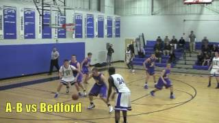 Acton Boxborough Varsity Boys Basketball @ Bedford 1/3/12