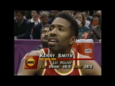 Kenny Smith - 1993 NBA Slam Dunk Contest