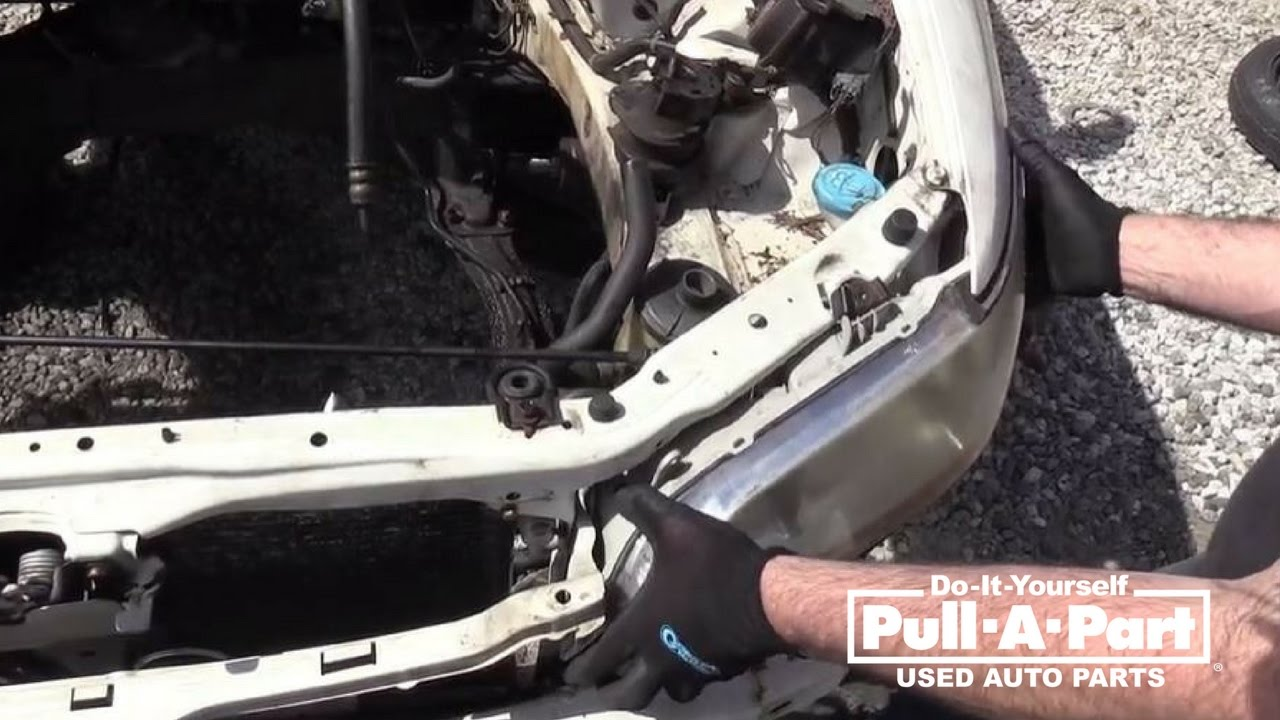 Honda Accord Headlight Assembly Removal Guide 1997 2002 Model Years Youtube