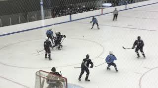 My brother playing hockey og game