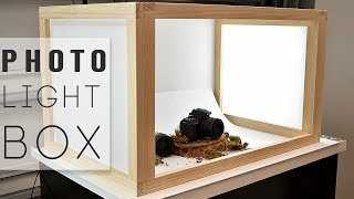 How to make a LIGHT BOX