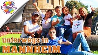 24 STUNDEN MANNHEIM - Shopping Challenge - Family Fun on tour