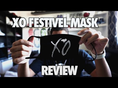 XO Face Mask Festivel Collection Review