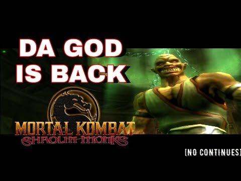 BARAKA DA GOD - Mortal Kombat Shaolin Monks - Liu Kang Story Mode thumbnail