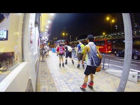 Inline Skating - Cheung Sha Wan to Tsuen Wan 2014-05-22