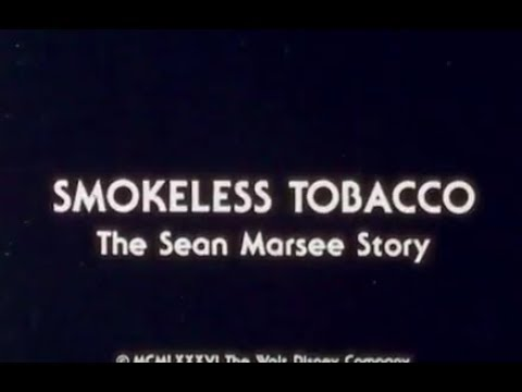 Smokeless Tobacco: The Sean Marsee Story - Sean Marsee's Message