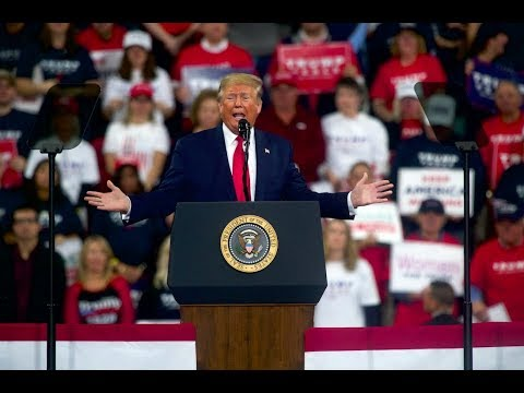 Trump Holds A Campaign Rally In Ohio – Watch Live