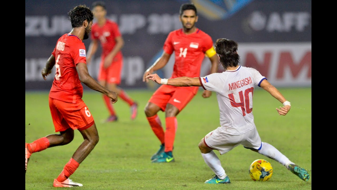 Philippines vs Singapore (AFF Suzuki Cup 2016: Group Stage) - YouTube