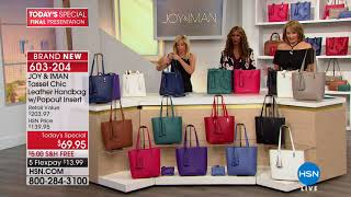 HSN | Joy & IMAN: Fashionably Functional 04.28.2018 - 10 PM