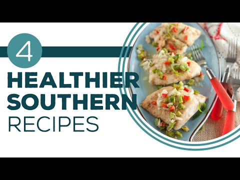 Healthy & Delicious Dinner - Paula Deen's Home Cooking - Full Episode