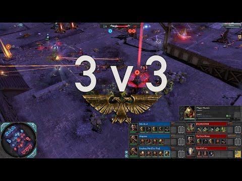 Dawn of War 2 - 3v3 | Silverleaf + slangaman + Laughing Man [vs] HUNTER + Great Kenny + SlaveOfTerra