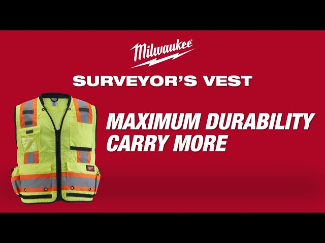 Milwaukee®  Surveyor's Safety Vests