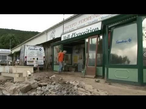 Draguignan : des entreprises submergées