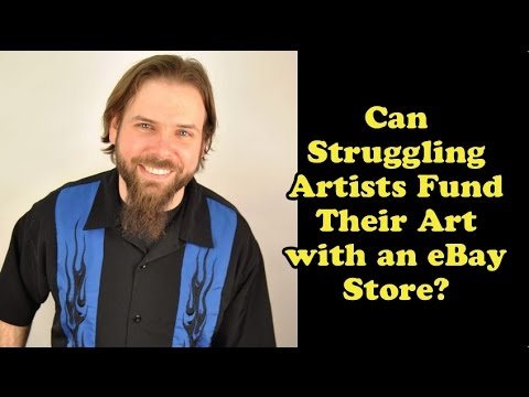 Scavenger Life Episode 268: Can Struggling Artists Fund Their Art with an eBay Store?