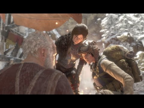 Gameplay Rise of the tomb raider PS4 cap 9 E l antídoto y al abuelo (bruja baba yaga) DLC part 2