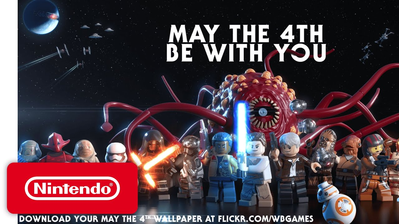 Lego Star Wars The Force Awakens New Adventures Game Trailer