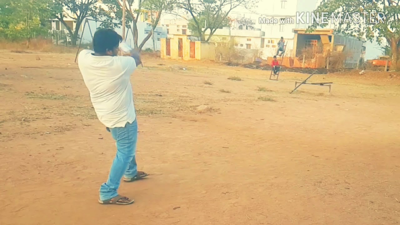 Indian style of Street Cricket FHD. Full Volume for that Sweet timber Sound