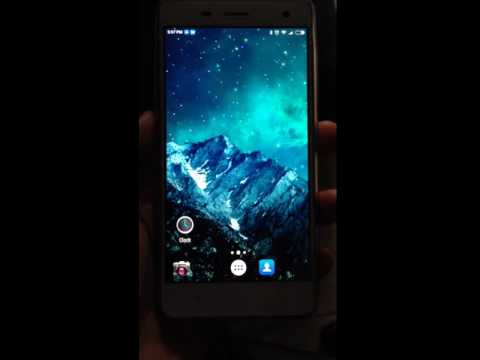 Android Parallax Mountain