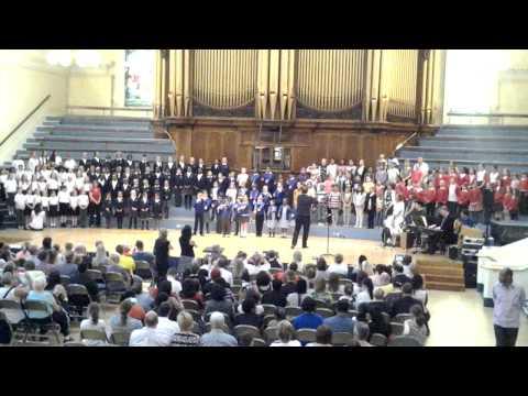 Nottingham Music Hub Big Sing 2013