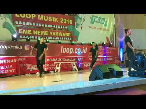 Loop Musik @ TIMiKA, ki torang bisa